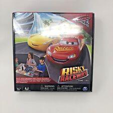 New Cars 3 Risky Raceway Board Game Disney Pixar Ages 5+ Lightning McQueen