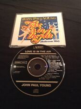 JOHN PAUL YOUNG LOVE IS IN THE AIR CD 1ST AUSTRALIA PRESS BLACK ALBERT 658085 2
