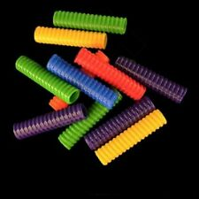 12 X- Large Screw Tubes Bird Toy Parts Foot Toys 2.35 Inch 1/2 inch wide hole