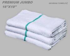 5lb Terry Green Stripe Premium Grade Bar Towels Restaurant Cleaning Towel 34oz