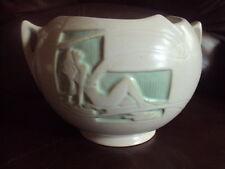 """Vintage Original Roseville Silhouette 742-6"""" Bulbous Vase/ Bowl."""