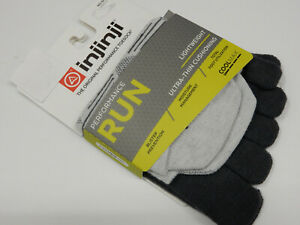 Injinji Run Lightweight No Show Grey XL