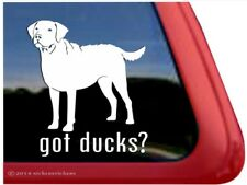 Got Ducks | Chesapeake Bay Retriever Vinyl Dog Window Decal Sticker