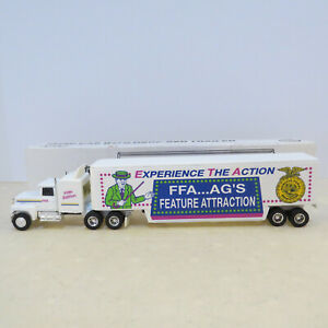 """Ertl Iowa FFA Ford Semi, """"Experience the Actions"""" 5th Edition 1/64 IF-9052-B2"""