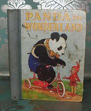 ** Panda In Wonderland- Juvenile Productions,  Illustrated, HB, Classic.