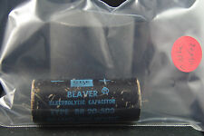 One Cornell Dubilier 20 uF 500V Audio Filter Electrolytic Capacitor