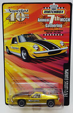 Matchbox 2009 7th MCCH Gathering 1972 Lotus Europa MOC + MB KarKeeper