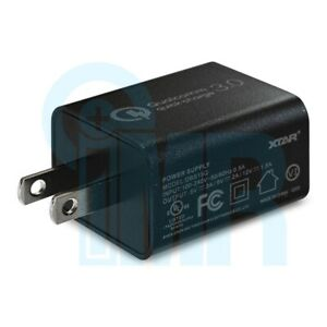 XTAR QC3.0 Quick Charge 3A 18W USB Wall Adapter