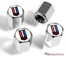 (4) Chevrolet Camaro Logo Chrome ABS Tire/Wheel Stem Air Valve CAPS Covers set