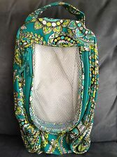 VERA BRADLEY PEACOCK TENNIS SHOE BAG - RARE - BRAND NEW WITHOUT TAGS