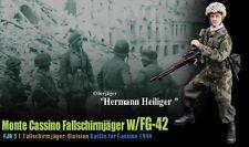"""Dragon 1/6 Scale 12"""" WWII German Solider Fallschirmjäger Hermann Heiliger 70819"""