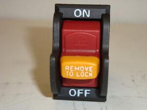 BD46125 Ridgid Ryobi BD46023 (J-9301 E156275) Power Switch