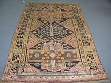 Antique Turkish Borlou Ushak Oushak Rug Hand Knotted Wool 5'-3 x 8'-0