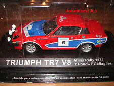 TRIUMPH TR7 V8 MANX RALLY 1978  - POND - GALLAGHER au 1/43°