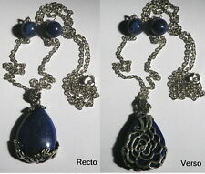 Vampire Diaries Collier de protection Katherine lapis lazuli Katherine's pendant