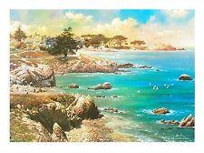 "Alexander Chen! ""Along The Coast"" LTD ED Lithograph - COA # 269 of 1000"