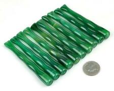10pcs Handmade Green Agate Stone Cigarette Holders Wholesale