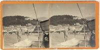 Lac A Identificare Italia Suisse Foto Stereo L9n9 Vintage Analogica