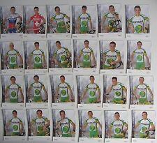 Equipe Complète PHONAK 2004, 24 Cartes Cyclisme