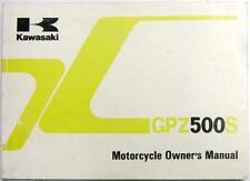 KAWASAKI GPZ500S EX500-D3/E3 Nov 1995 Motorcycle Handbook #99922-1784-02