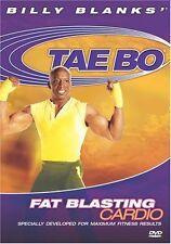 Billy Blanks Tae Bo DVD Cardio Kickboxing - FAT BLASTING CARDIO!