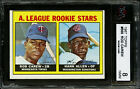 1967 TOPPS ~ #569 ~ ROD CAREW ~ HALL OF FAME ROOKIE CARD ~ KSA 8 NM-MT