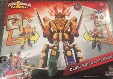 Power Rangers Samurai MMPR Megazord & Clawzord  Claw Armor Megazord! BANDAI