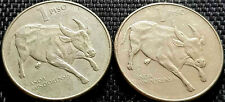 1985 Philippines One Piso coin 2pcs F (+ FREE 1 coin) #D7955