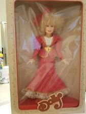 "Vintage Dolly Parton Doll Red Dress In Concert New In Box 18"" Vinyl Nib"
