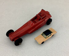1950's Tootsie Toy Dragster Race Car.   Die Cast #2 USA Red & 1950s Micro car