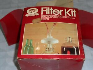 boots winemakers filter kit