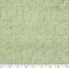 P Kaufmann Cabana Mint Julep Green Floral Woven Upholstery Fabric BTY