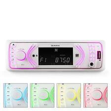 Radio Coche autoradio Bluetooth entrada SD USB AUX reproductores Audio externos