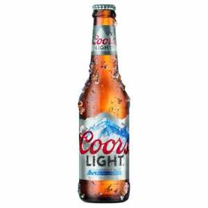Coors Light Lager Bottles 20 x 330ml
