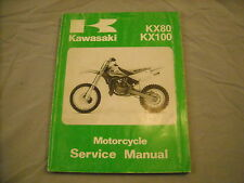 1998 Kawasaki Service Manual KX80 KX100