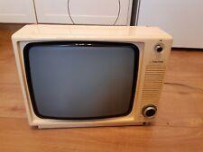 More details for vintage ferguson retro television set (fully working) back & whitetv model 3847