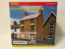 Hornby Skaledale R8555 OO Gauge Building RADCLIFFE'S NEWSAGENT