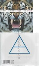 CD--THIRTY SECONDS TO MARS - - -- THIS IS WAR