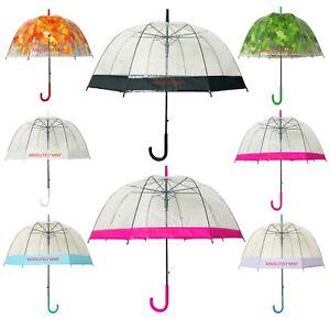 Dome Umbrella Canopy Wedding Fashion Accessory Outdoor Rain Protect Water Proof