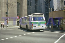 GO TRANSIT BUS SLIDE: 1013 GM NEW LOOK IN TORONTO ORIGINAL PAINT (1972 ORIGINAL)
