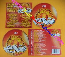 CD 39°Festivalbar 2002 Compilation Rossa VASCO ROSSI KRAVITZ no lp mc dvd(C26)
