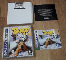 DOGZ Gameboy Advance Game Dogs GBA Complete
