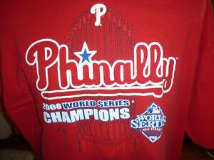 Authentic 2008 Philadelphia Phillies World Series Champions t-shirt
