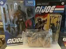 GI Joe Classified Series Hasbro - Snake Eyes 6? Retro Figure Wolf LOT