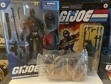 GI Joe Classified Series Hasbro - Snake Eyes 6? Retro Figure Wolf LOT