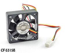 50x50x15mm 3-Pin DC Ball Bearing PC Computer Case Cooling Fan 5200RPM - CF-5315B
