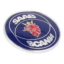 SAAB CLASSIC 900 86-94MY SAAB SCANIA BONNET BADGE 4522884 NEW GENUINE SUFFOLK