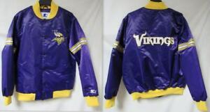 Minnesota Vikings Mens Size X-Large Starter Jacket B1 393