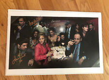 The Sopranos Cast Signed Picture Poster Signed at Sopranos Con by 4 cast members