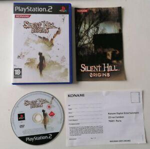 Jeu rare PS2 Silent Hill Origins Complet FR TBE